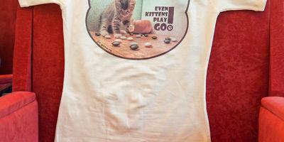 Го-футболка с котёнком
