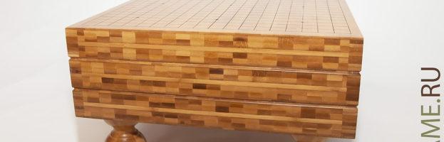 Гобан для игры Го 03 (бамбук 15 см)